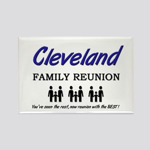 Cleveland Family Reunion Rectangle Magnet