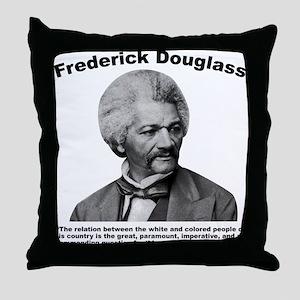 Douglass: Question Throw Pillow