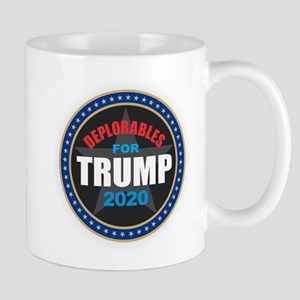 Deplorables for Trump 2020 Mugs