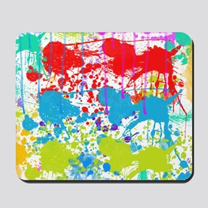 Paint Splatter Mousepad
