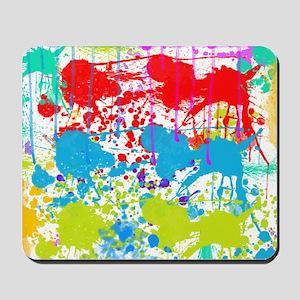 Paint Splatter Mousepad