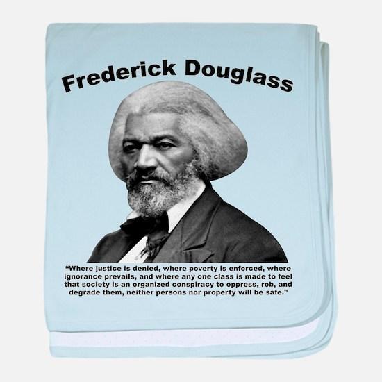 Douglass: Class baby blanket
