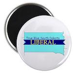 True Blue South Dakota LIBERAL Magnet