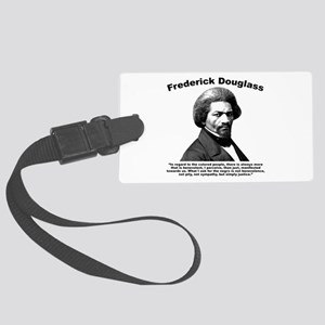 Douglass: Justice Large Luggage Tag