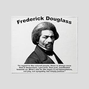 Douglass: Justice Throw Blanket