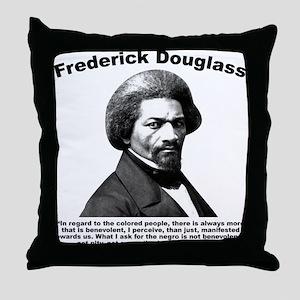 Douglass: Justice Throw Pillow
