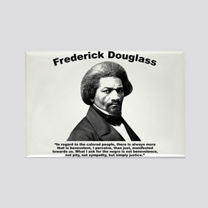 Douglass: Justice Rectangle Magnet