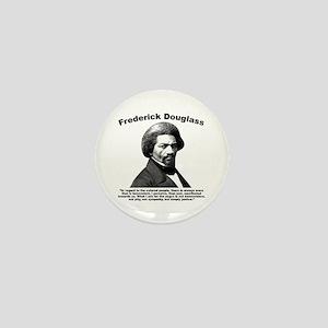 Douglass: Justice Mini Button