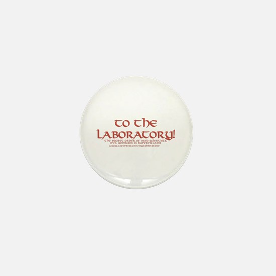 To The Laboratory Mini Button