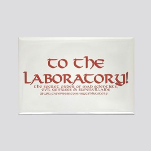 To The Laboratory Rectangle Magnet