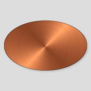10x10_apparel-Copper Sticker