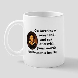 Pushkin Prophet Quote Mug