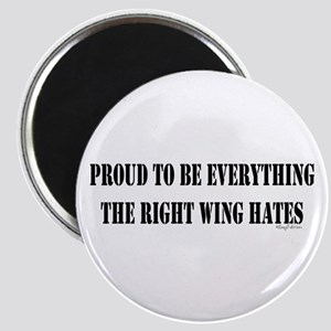 Everything Right Wing Hates Magnet