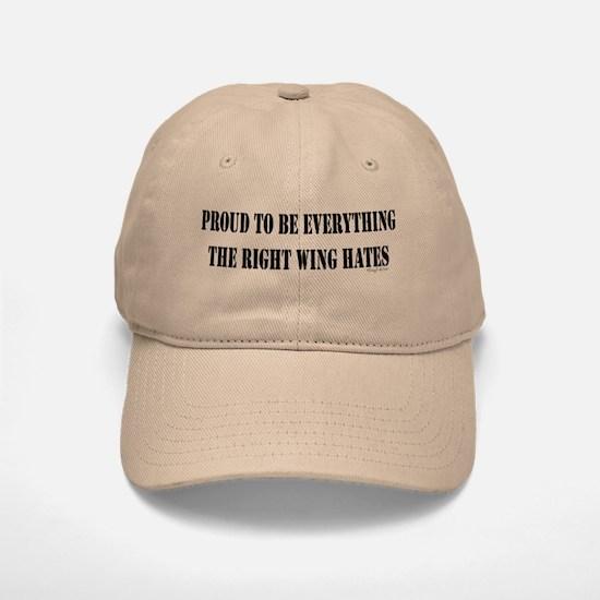 Everything Right Wing Hates Baseball Baseball Cap
