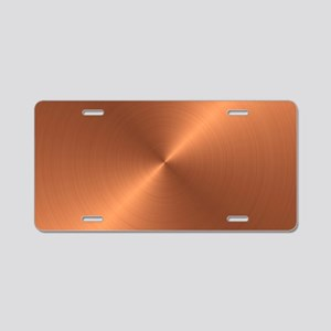 10x10_apparel-Copper Aluminum License Plate