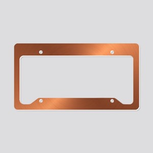 10x10_apparel-Copper License Plate Holder