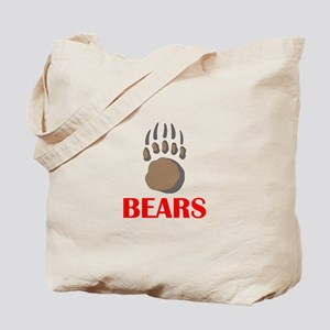 BEAR PAW MASCOT Tote Bag