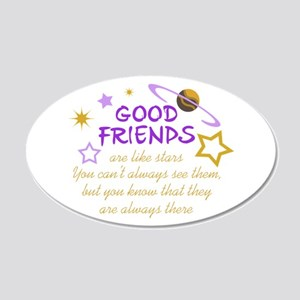 GOOD FRIENDS Wall Decal