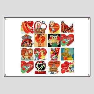 vintage valentines day cards feb Banner