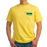Yellow T-Shirt for a True Blue Oklahoma LIBERAL