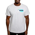 Ash Gray T-Shirt for a True Blue Oklahoma LIBERAL