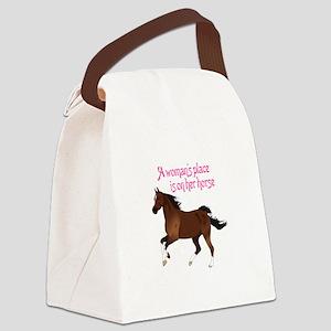 A WOMANS PLACE Canvas Lunch Bag