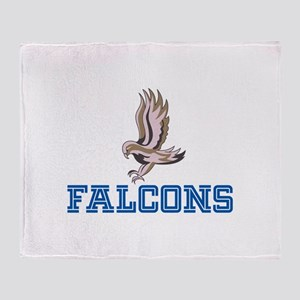 FLYING FALCON Throw Blanket