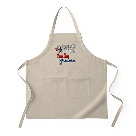 Navy Godmother BBQ Apron
