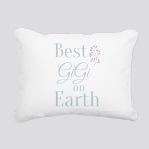 Best Gigi on Earth Rectangular Canvas Pillow