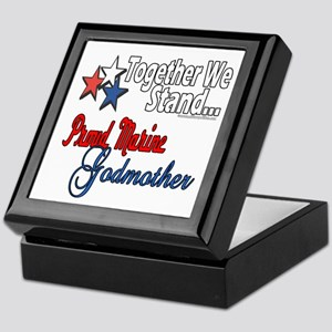 Marine Godmother Keepsake Box
