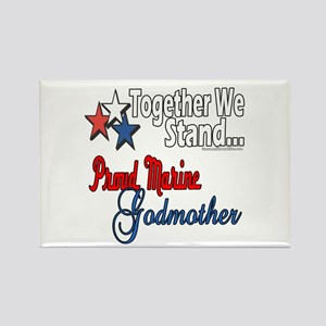 Marine Godmother Rectangle Magnet