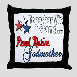 Marine Godmother Throw Pillow