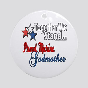 Marine Godmother Ornament (Round)