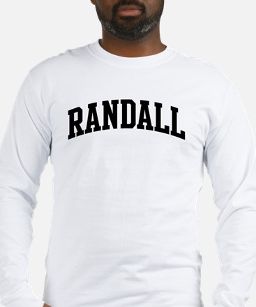 RANDALL (curve-black) Long Sleeve T-Shirt