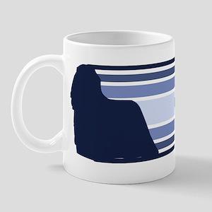 Komondor (retro-blue) Mug