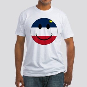 Acadian Smiley Fitted T-Shirt