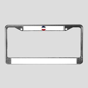Acadian Smiley License Plate Frame