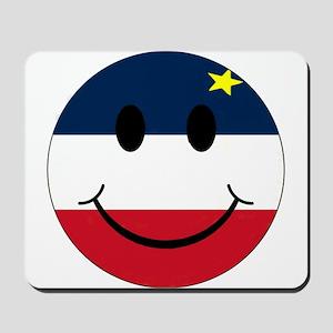Acadian Smiley Mousepad