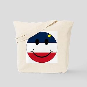 Acadian Smiley Tote Bag