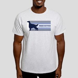 Irish Setter (retro-blue) Light T-Shirt