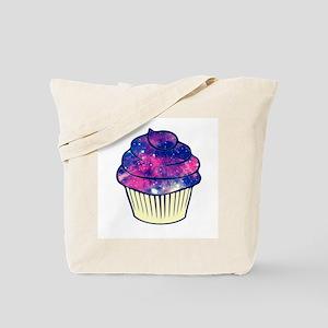 Galaxy Cupcake Tote Bag