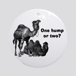 Funny Camels Ornament (Round)