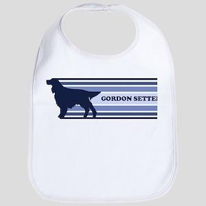 Gordon Setter (retro-blue) Bib