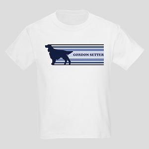 Gordon Setter (retro-blue) Kids Light T-Shirt