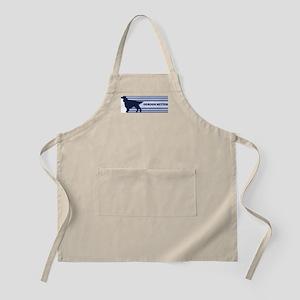 Gordon Setter (retro-blue) BBQ Apron