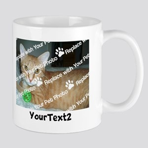 427c19f0f21e Funny Ferret Dad. CUSTOMIZE Add 2 Photos 2 Texts Mug