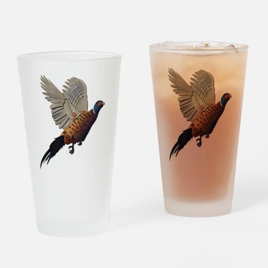 Pheasant Drinking Glass