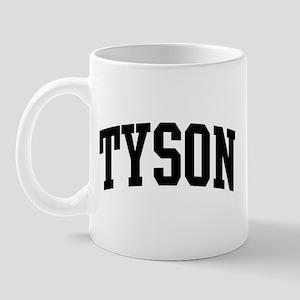 TYSON (curve-black) Mug
