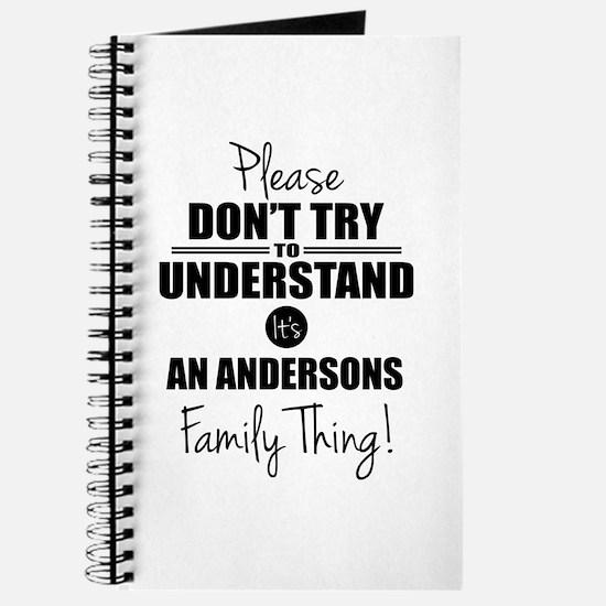 Custom Family Thing Journal