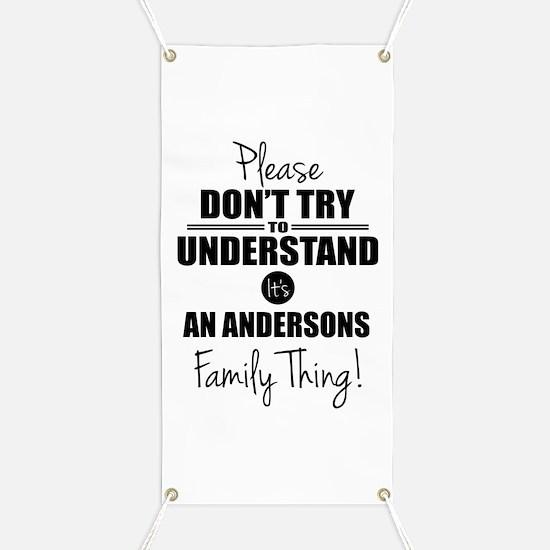 Custom Family Thing Banner